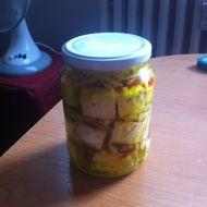 Okořeněný naložený hermelín recept