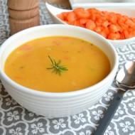 Krémová mrkvová polévka s koriandrem recept