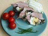 Plec plněná vajíčkem, špenátem a estragonem recept