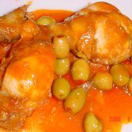 Kuře s olivami recept