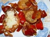 Plátky na majoránce s pikantním kořením a smaženým bramborem ...