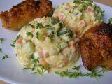 Bramborový  salát bez brambor  z cukety recept