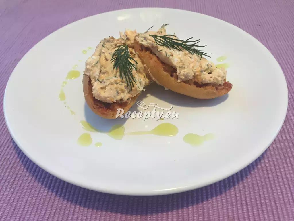 Rybí pomazánka s koprem recept  pomazánky