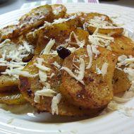 Pikantní bramborová kolečka recept