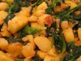 Špenát a brambory netradičně recept