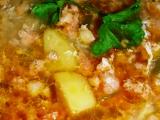 Klobásková polévka recept
