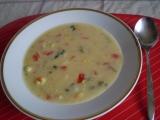 Vločková smetanová polévka se zeleninou recept