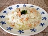 Lososové rizoto recept