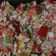 Pálivé rizoto recept