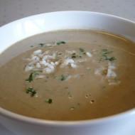 Játrová polévka s rýží recept
