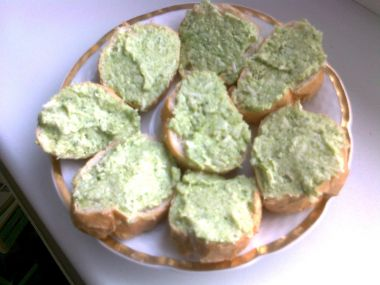 Pomazánka z brokolice a sýra