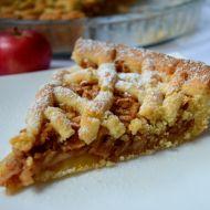 Babiččin jablečný mřížkový koláč recept