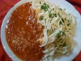 Výborné italské špagety trošku jinak recept