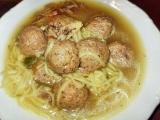 Kadlíkova kachní knedlíčková polívka recept