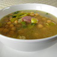 Uzená polévka s cizrnou recept
