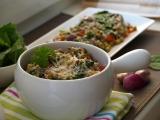 Pohanka s listovým špenátem recept