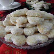 Pískové vánoční cukroví recept