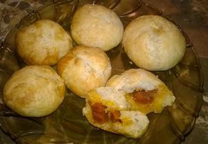 Chorizové chlebánky  TAPAS