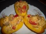 Paprika plněná salátem recept