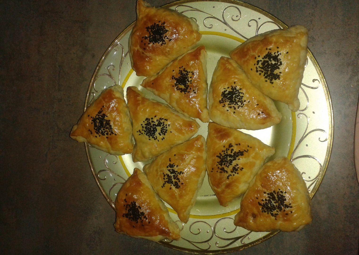 Uzbecká samsa recept