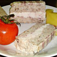 Terina z vepřového a kuřecího masa pečená v Bain Marie recept ...