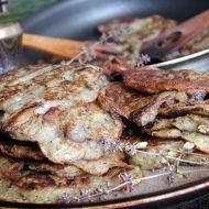 Bramboráky s houbami  vošouchy recept