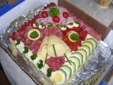 Slaný chlebový dort recept