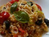 Bulgur s olivami po středomořsku recept