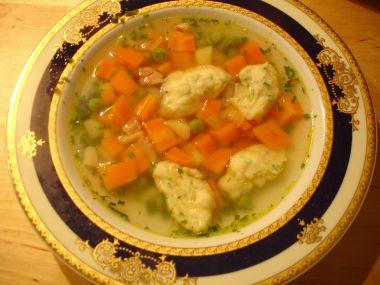 Zeleninová polévka se zelím