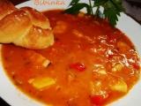 Polévka jako oběd s žemličkama recept
