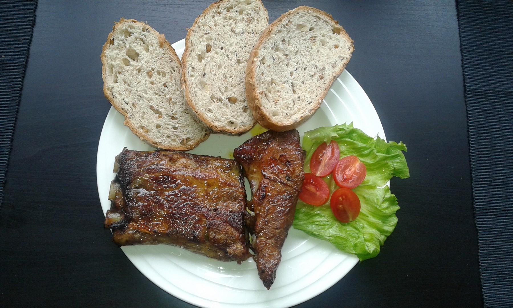 Pečená vepřová žebra recept