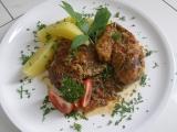 Krkovička a kuřecí na Ljutěnici s libečkem recept