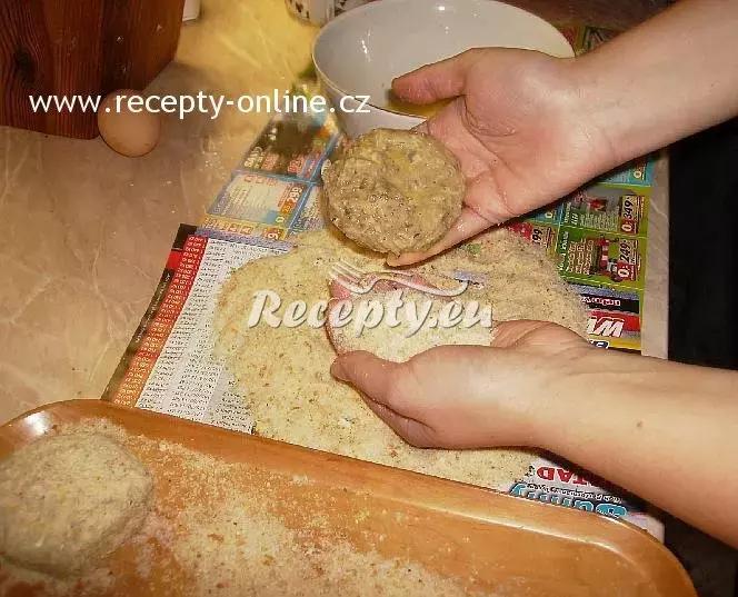 Podzimní houbové karbanátky recept  houbové pokrmy