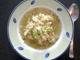 Kapustová polévka s rýží recept