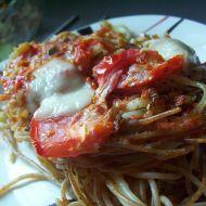 Špagety s rajčaty a pestem recept