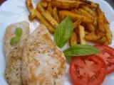 Přírodní kuřecí s italskými hranolkami recept