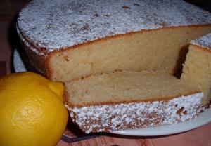 Citronovo-tvarohová buchta