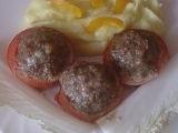 Pečená rajčata s masem recept