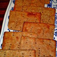 Jemný křupavý švédsky chléb  Knäckebrot recept