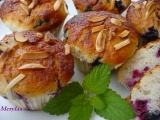 Tvarohové muffiny s rybízem pečené v remosce recept  TopRecepty ...