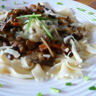 Houby s čínskou zeleninou recept