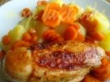 Kuře na mrkvi recept