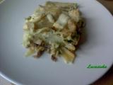 Lasagne s brokolici a hlivou recept