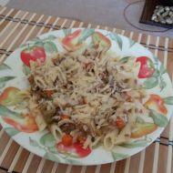 Chutné těstoviny s tuňákem a zeleninou recept