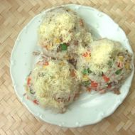 Rizoto se zeleninou, tuňákem a sýrem recept