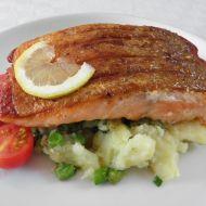Přírodní filet z lososovitého pstruha recept