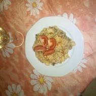 Rizoto s rajčaty a žampiony recept