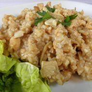 Zázvorová rýže s kuřecím masem recept