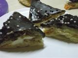Šlehačkové řezy s meruňkami a čokoládou recept