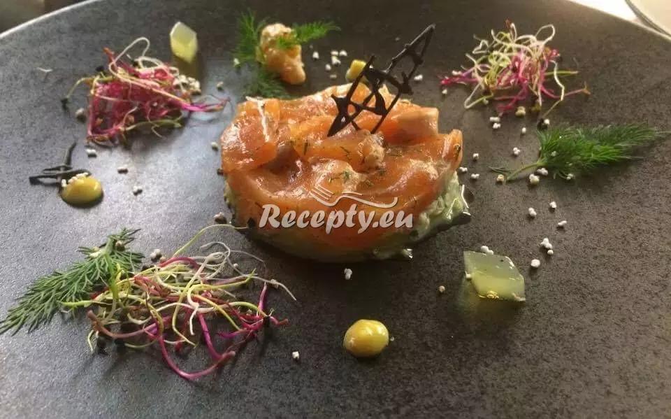 Tatarák z lososa recept  ryby